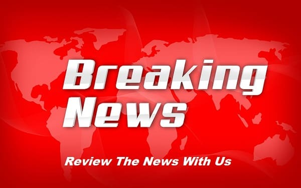 Breaking news right now - worldwide headlines - red banner