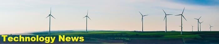 Technology news - science headlines wind turbines on farm
